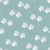 Paw prints. Seamless background — Vetorial Stock