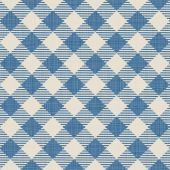 Seamless texture of blue plaid — Stock Vector
