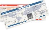 Vektorový obrázek letecká stravování pass lístku — Stock vektor
