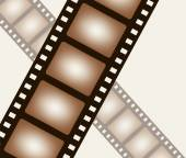 Background from negative film strip — Stock Vector