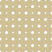 Seamless background pattern with dots — Stock Vector