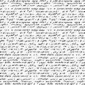 Seamless background of abstract handwriting — Cтоковый вектор
