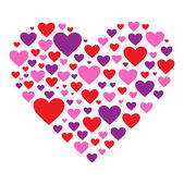 Hearty Heart — Stock Vector
