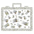 Briefcase of Money — Stock Photo #59764661