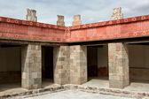 Aztec architectural detail — Stock Photo