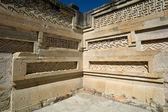 Mitla temple architectural details — Stock Photo