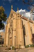 Loretto chapel Santa Fe — Stock Photo