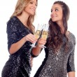 Friends toasting with champagne — Stock Photo #56826571
