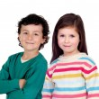 Brother and sister. — Stock Photo #58780221