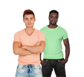 Two casual guys — Stock Photo