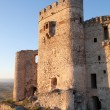 Castle in ruins located in the north of Caceres — Stock Photo #68691887