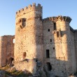 Ancient castle in ruins — Stock Photo #74130801
