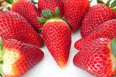 Delicious red strawberries  — Stock Photo