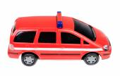 Police car red toy — Stock Photo
