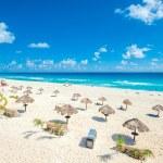 Cancun beach panorama — Stock Photo #52270427