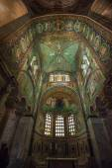 Mosaics of Basilica of San Vitale — Stock Photo