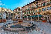 Piazza delle Erbe — Stock Photo