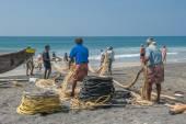 Traditional fishing — Stock Photo