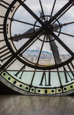 Clock in Orsay museum — Stock Photo