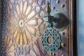 Ancient doors — Stock Photo