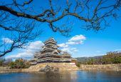 национальный замок мацумото — Стоковое фото