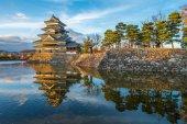 National Matsumoto castle — Stock Photo