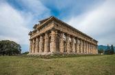 Andra tempel av Hera på Paestum — Stockfoto