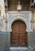Ancient arabic door — Stock Photo