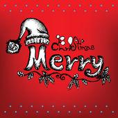 Doodles Christmas — Stockvektor