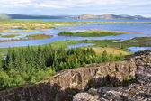Pingvellir national park in Iceland — Stock Photo