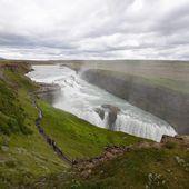 Gullfoss waterfall in Iceland — Stock Photo