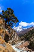 Mountain scenery in Himalaya — Stock Photo