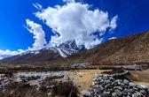 Beautiful alpine scenery in the Himalayas — Stock fotografie