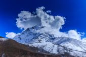 Mountain scenery in Himalaya — Zdjęcie stockowe