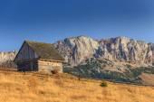 Autumn scenery in rural area in Transylvania — Photo
