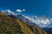 Mountain landscape in Himalaya — Stock Photo