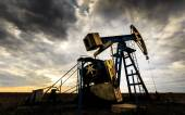 Industrial oil and gas well — Stock Photo