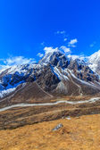 Mountain scenery in Himalaya, Nepal — Stock Photo