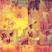 Старые текстуры фона с деликатной абстрактный узор — Стоковое фото