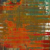 旧的质地,精致抽象图案作为垃圾背景。不同颜色图案 — 图库照片