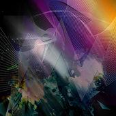 Abstracte illusie — Stockfoto