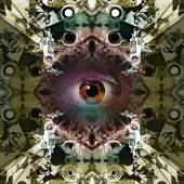 Esoteric eye — Stock Photo