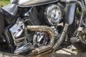 Engine motorbike. — Stock Photo