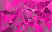 Pink polygonal background — Stock Vector