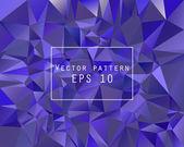 Blue poligonal background — Vettoriale Stock