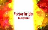 Backdrop orange brush strokes background — Stock Vector