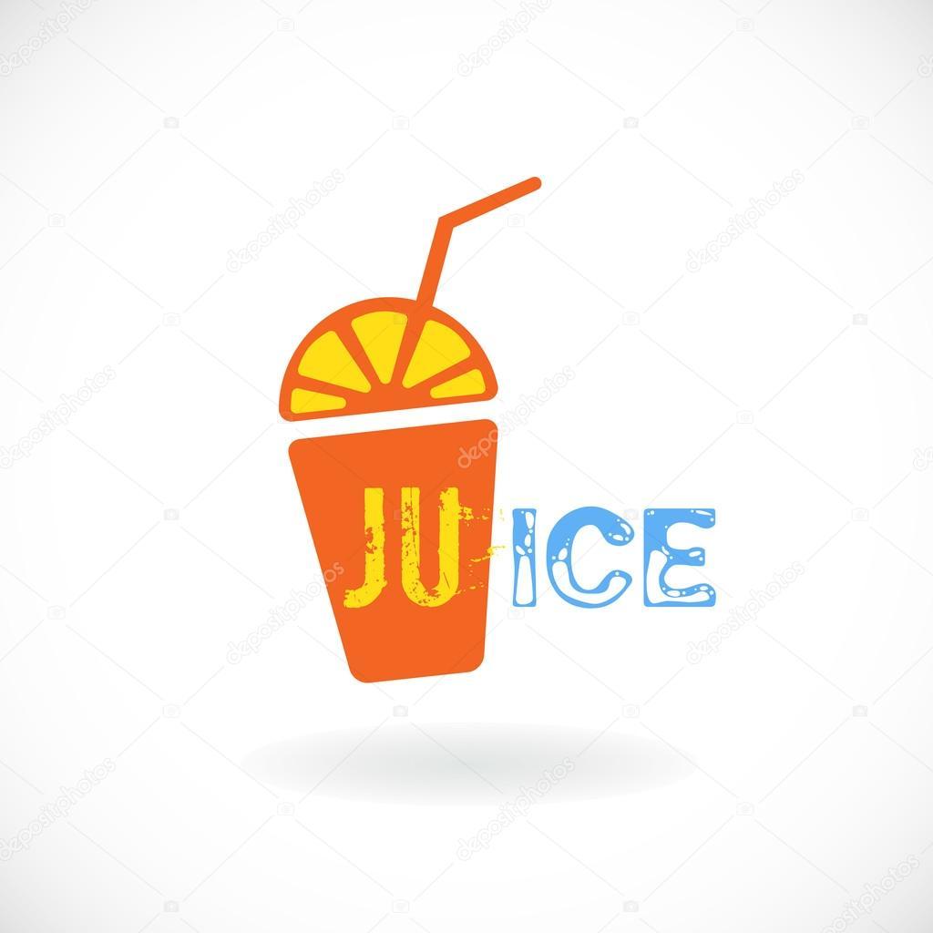 orange juice simple logo stock vector  u00a9 shekaka 83113700 orange juice brands logos Orange Juice Carton