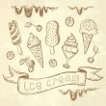 Ice Cream Set — Stock Vector #77291312