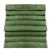 Stack of green vintage old books — Stock Photo