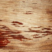 Cracked lacquered wooden board — Stock Photo